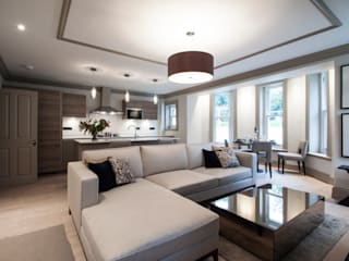 Calverley Park: modern Living room by Robyn Falck Interiors