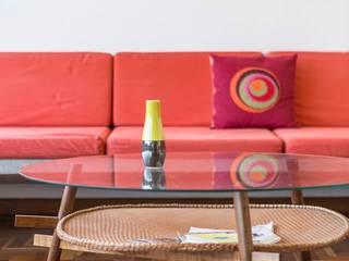 Salones de estilo moderno de LAB606 Moderno