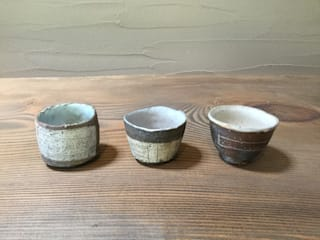 ぐい呑: keiichishimizu 丹波かねと窯が手掛けたアジア人です。,和風