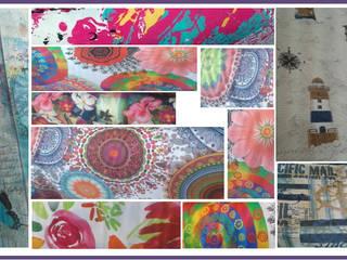 El color de los textiles en la decoración de NBe DECO Ecléctico