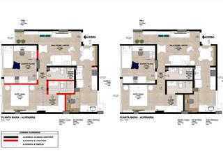 Projeto MC por Isadora Cabral Arquitetura Moderno