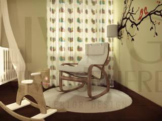 O quarto da Eva Living Atmosphere Kids Quartos de criança modernos