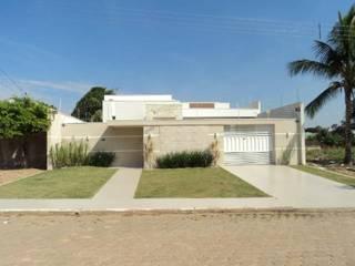 Casas de estilo  por Ricardo Galego - Arquitetura e Engenharia, Moderno