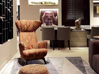 Projeto: Salas de estar  por Inês Amorim arquitetura