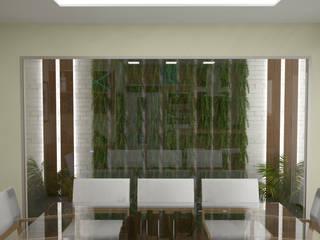 KC ARQUITETURA urbanismo e design Jardines de invierno de estilo moderno