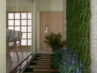 Wintergarten von KC ARQUITETURA urbanismo e design, Modern