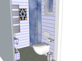 BAÑO: Baños de estilo  de DECO-REFORMAS BADAL