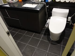 Modern bathroom by like a debby home Modern