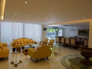 DEPARTAMENTO EN PALERMO I Livings modernos: Ideas, imágenes y decoración de Estudio BASS Arquitectura Moderno