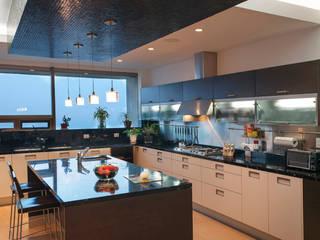 Departamento ASL Cocinas modernas de ARCO Arquitectura Contemporánea Moderno