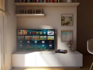 Rack de TV:  de estilo  por Límea