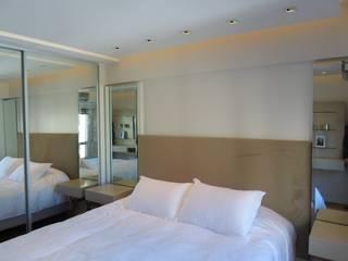 DEPARTAMENTO EN PALERMO II Dormitorios modernos: Ideas, imágenes y decoración de Estudio BASS Arquitectura Moderno