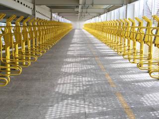 Soluciones para el ciclismo urbano de Diseño Neko Moderno