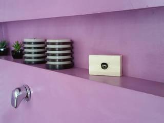 Pavimento Moderno Modern bathroom Purple/Violet