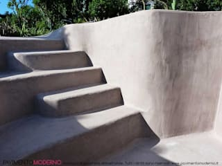 Pavimento Moderno Swimming pond Concrete Beige