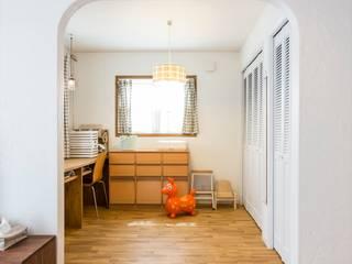 ジャストの家 Scandinavian style media room White