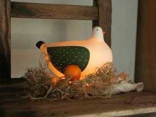 鳥の照明: 小堤晶子 OZ.FACTORYが手掛けたです。