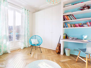 Dormitorios infantiles de estilo moderno de Carnets Libellule Moderno