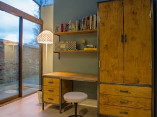 Bedroom painting in London NW3: modern Nursery/kid's room by Adrian Lesicki Decorating
