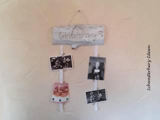 Kartenhalter / Fotohalter von Schwesterherz-Ideen Landhaus