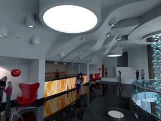 Foyer Teatro: Salones de eventos de estilo  de Mitamatita
