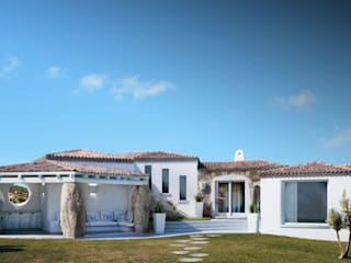DMC Real Render Casas mediterráneas Blanco