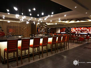 Asian style hotels by Marisol Tafich Asian