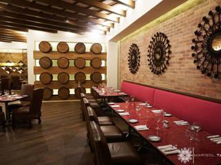 Hotel Gaya Rustic Oleh Marisol Tafich Rustic