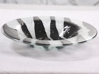 Bandejas:  de estilo  por Indigo Glass Art