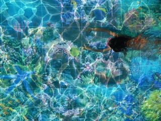 Baskılı Havuz Fayansları FayansArt Akdeniz Havuz Seramik
