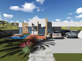 Residência MB: Casas  por CONCEITO Arquitetura, Urbanismo e Interiores