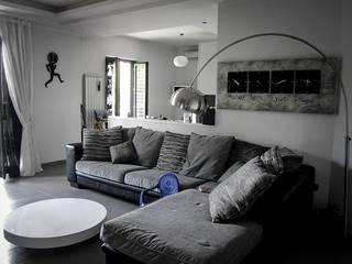 Casa brasiello Soggiorno moderno di DAA - Daniele Auletta Architetto Moderno