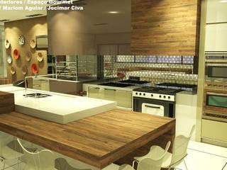 Cozinha Cozinhas modernas por DUO ARQUITETURA E CONSTRUÇÃO Moderno