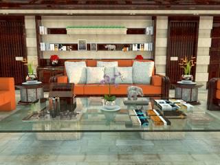 Salones clásicos de Luca Dini Design Clásico