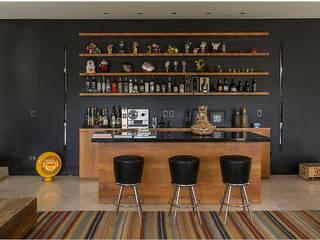 Palos Verde Cozinhas modernas por Ximenes Leite Arquitetura Ltda. Moderno