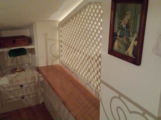 Progetti Balcone, Veranda & Terrazza in stile moderno di ELLEBI Le Falegnamerie snc Moderno
