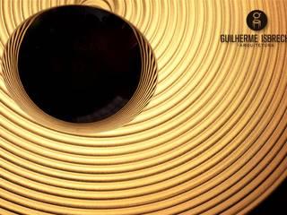 Área de Lazer e Garagem: Garagens e edículas  por Guilherme Isbrecht Arquitetura