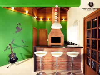 Área de Lazer e Garagem Garagens e edículas modernas por Guilherme Isbrecht Arquitetura Moderno