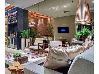 projetos: Salas de estar  por Elisa Cardoso Arquitetura