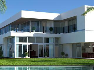 Houses by Letícia Passarini - Arquitetura & Interiores, Modern