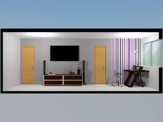 P1: Cuartos de estilo  por Espacio Estudio de Arquitectura