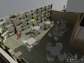 Proyectos: Espacios comerciales de estilo  por Oficina Ludica