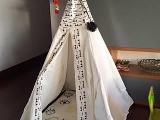 Teepee & Textiles:  de estilo  por Maka concept, Moderno