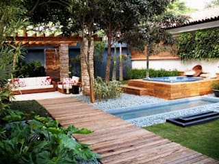 Country style pool by ssarquitetura.producao Country
