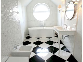Eclectic style bathrooms by Stylano Eclectic