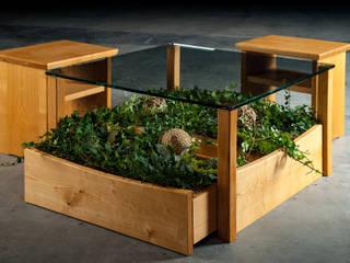 Couchtisch Möbelmanufaktur GreenHaus WohnzimmerBeleuchtung Holz Braun