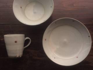 かねと窯点紋シリーズ: keiichishimizu 丹波かねと窯が手掛けたアジア人です。,和風