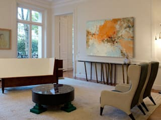 Living room by ISAELLE DELANOUE, Modern