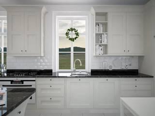 Kuchnia - Szwecja: styl , w kategorii  zaprojektowany przez Zeler Design