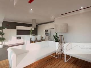 Apartamento de Tucacas Salas de estilo moderno de Arq.AngelMedina+ Moderno